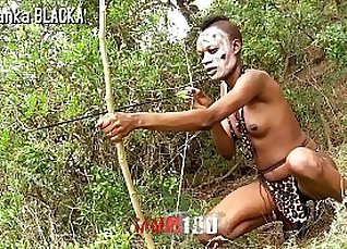 girl fucked from behind by a black dude in the wilds of cum hole |