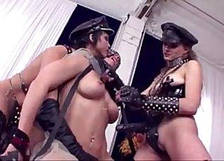 Hot Lesbian Double Anal |