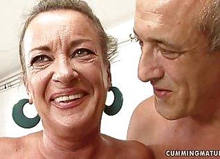 Classy Granny Sluts Squirting when Taking Hard Cock |