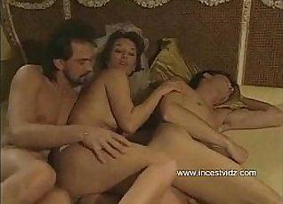 Threesome Mom Fucks Son |