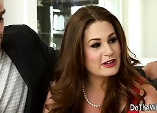 Swinger whore Frankie assists Brashear in a couple broked |