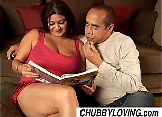 Busty babe gets a cumshot |