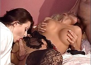 Nurse stuffs his russet shemale to her anus  