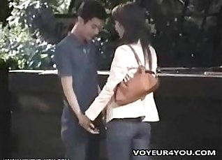Fist couple fucking in public only? |