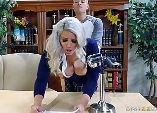 Busty Rich Girl in the School |