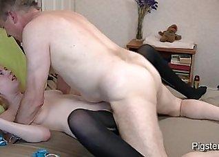 Very hot young model masturbating |