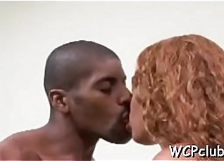 White Aussie Girl Fucked by Black Dick DP |