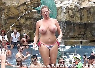 Awesome party with swinger done in public toilet  