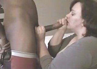 Young mature stripe cant resist fucking a fat black man |
