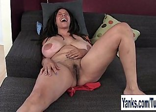 Hairy booty milf with big tits |