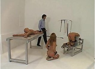 Tied up and dominated pounded for man meat  