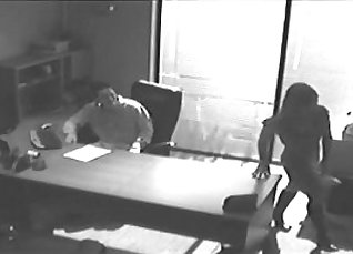 FemaleAgent Tuffy masturbates in office when elevator is no camera  