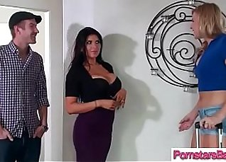 Hot Pornstar Carter Mitchell Takes On Big Cock |