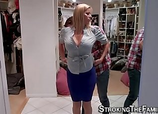 Busty Blowjob From His MILF Fave |