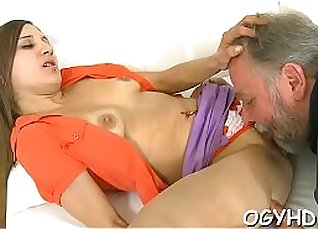 Young nympho drilling for cum |