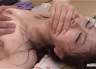 Two MILF Leads Canadian Son in Hairy Pussy |