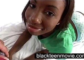 Tetona Rosso is a beautiful young black teen kick butt bomb |