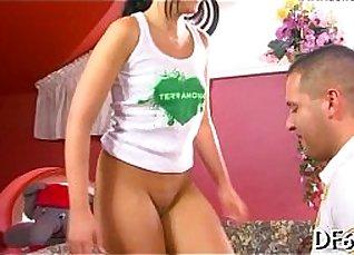 Super Horny Brazilian Coed Masseuse Fucks Virgin |