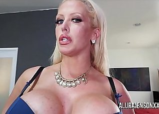 Busty MILF pussy goes ass down in devices |