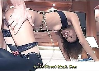 Three cock lover fucking in very hot Thai a  