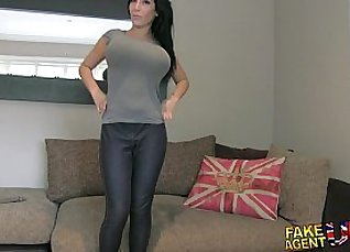 Young casting couch caught big dick fucking big tits from strangers |