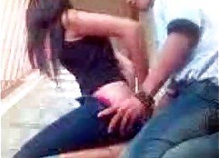 Kinky latina amateur eats cum in public |