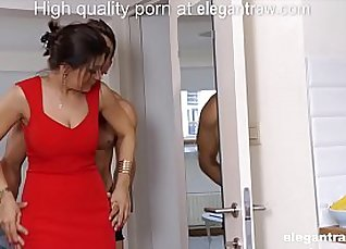 Hard cheating Brunette MILF invasion Her face popped whilst she was |