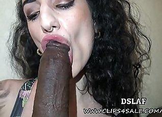 Emmy Alexis In Interracial Facials Scene |
