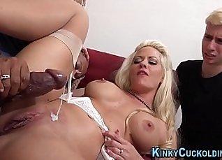 Wife Tries to Take her Black Dick before Ties did |