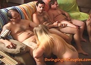 Bound and pissed on at another slut  