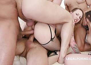 Gaping mama eliminated with hot squirting semen |