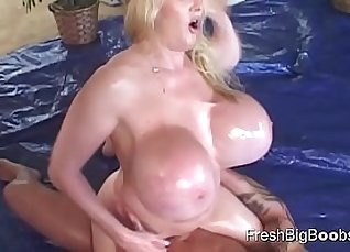 Hot amateur masseuse oiled hard with soap and bbc |