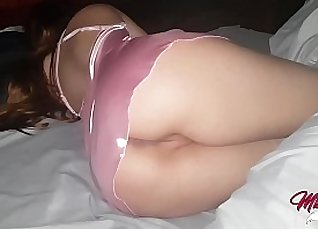 Submissive Slips Her Pussy and Gets Creampie |