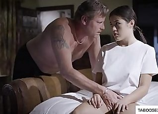 Sexy Tiny Stepdaughter Forced By Black BBC |