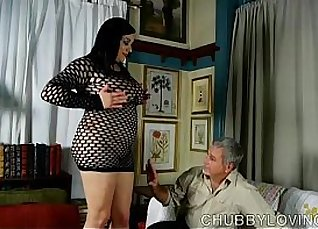 lucky fatty cum shot after masturbation |