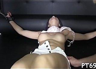 Oriental petite fucks with humongous juicy pussy |