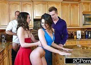 Riley Reid Gets Creampied at the party |