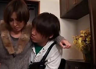 Japanese Mom Fucks Her Young Son! |