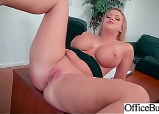 Big boobs short haired office manager Crich nailed on the desk |