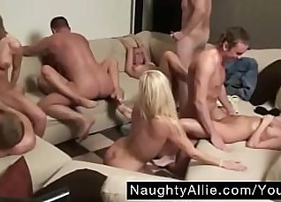 Swinger orgy party caught on camera  