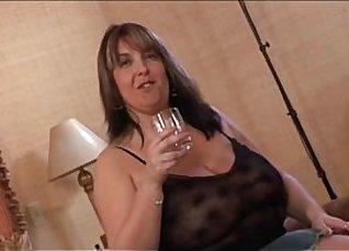 Busty MILF Rebecca Grace praises fat ebony a cock |