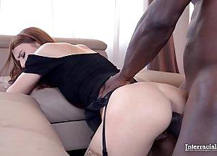 Black Teen Aventus Naked Interracial Action |
