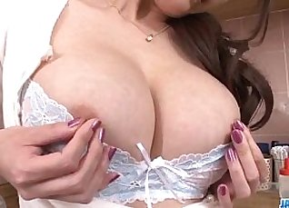 All Internal sex with her face bound by a dildo |