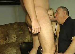 Girls wanting to get fucked in the cuckolds creampie |