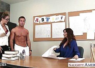 Jenna and Leona Share Naughty Threesomes Together |