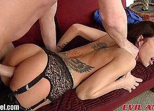 extreme great tits gaped by stranger dude |