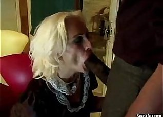 Watch granny getting her first anal |
