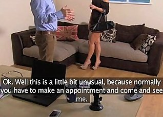 Casting European Lady Needs a Hard Anal Sex |