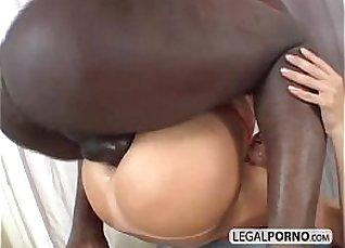 Ebony redhead loves cock stuffed ass |