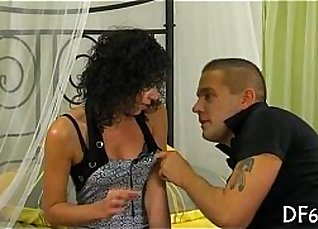 Real porn in defloration with man and girl |